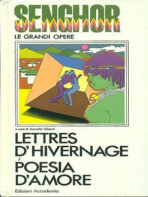 Lettres d'hivernage poesia d'amore: Senghor