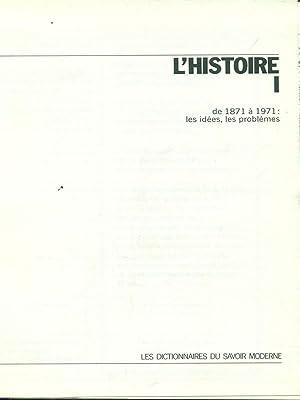 les dictionnaires du savoir moderne - Histoire: aa.vv.