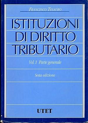Istituzioni di diritto tributario: Francesco Tesauro