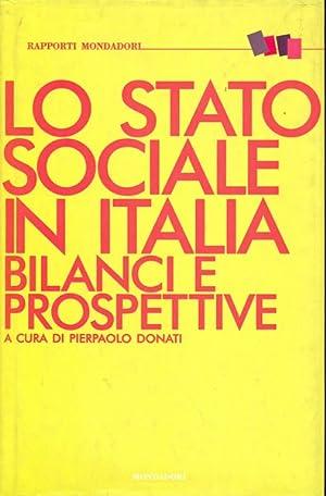 Lo Stato sociale in Italia bilanci e: Donati, Pierpaolo