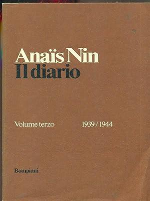 Il diario vol terzo 1939/1944: Anais Nin