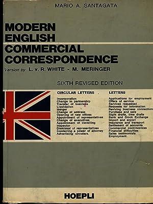 Modern english commercial correspondence: Mario A. Santagata