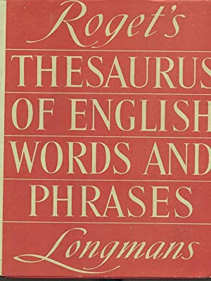 Roget's thesaurus of english words and phrases: aa.vv.