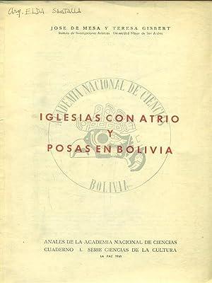 Iglesias con atrio y posas en bolivia: Jose de Mesa