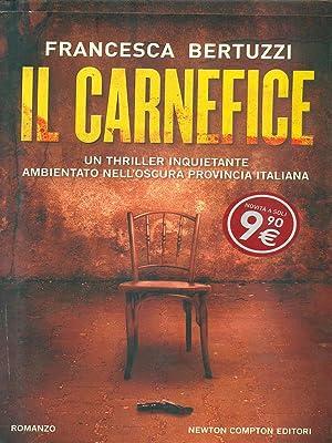 Il carnefice: Francesca Bertuzzi
