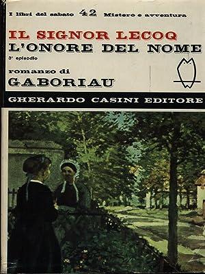 Il Signor Lecoq/3 - L'onore del nome: Gaboriau