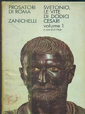 Le vite di dodici cesari I: Caio Svetonio Tranquillo