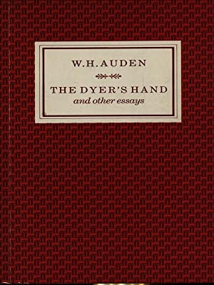dyer essay hand other The best of wh auden's prose writings revealing an intimate view of the author's mind it includes the famous lectures he delivered as oxford professor of poetry.