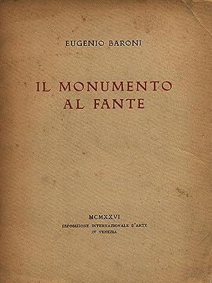 Il monumento al fante: Eugenio Baroni