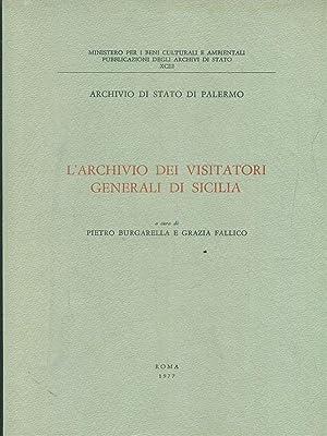 L'archivio dei visitatori generali di sicilia: Burgarella - Fallico