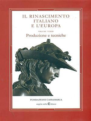 Il Rinascimento Italiano e l'Europa vol. 3: Braunstein - Mol?