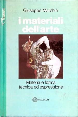 I materiali dell'arte: Marchini, Giuseppe