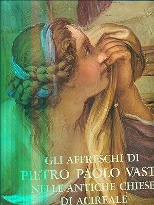 Gli affreschi di Pietro Paolo Vasta nelle: Blanco, Mario