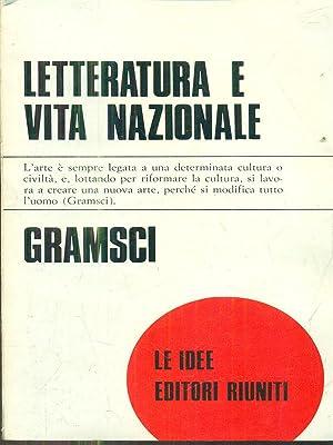 Letteratura e vita nazionale: Gramsci, Antonio