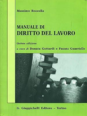 Manuale di diritto del lavoro: Roccella, Massimo