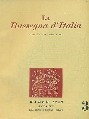 La rassegna d'Italia numero 3 - marzo: aa.vv.