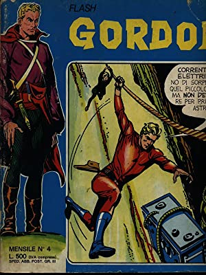 Flash Gordon n. 4/aprile 1974: aa.vv.