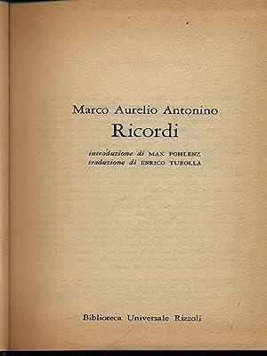 Ricordi: Antonino, Marco Aurelio