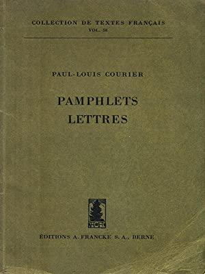 Lettres et pamphlets (French Edition)