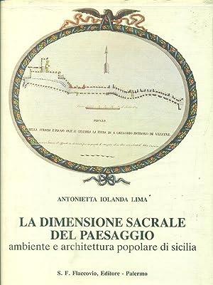 La dimensione sacrale del paesaggio: Lima, Antonietta Iolanda