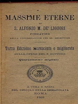 Massime eterne: De' Liguori, Alfonso