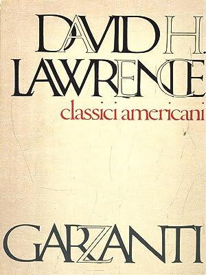 Classici americani: Lawrence, David H.