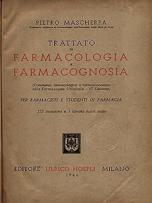 Trattato di farmacologia e farmacognosia: Mascherpa, Pietro