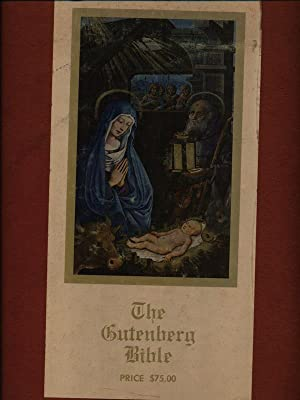 The Gutenberg Bible 3vv