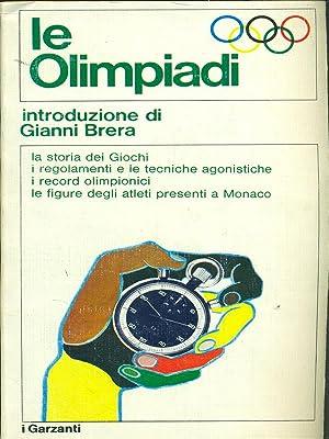 Le olimpiadi: M.Borelli - G.Brera