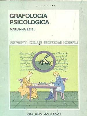 Grafologia Psicologica: Leibl, Marianna
