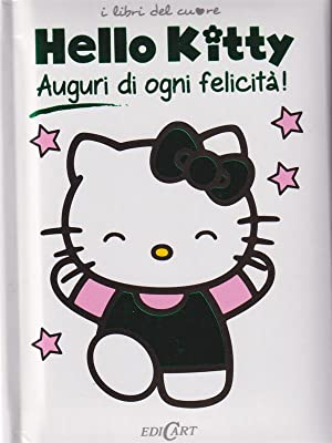Auguri di ogni felicita'. Hello Kitty