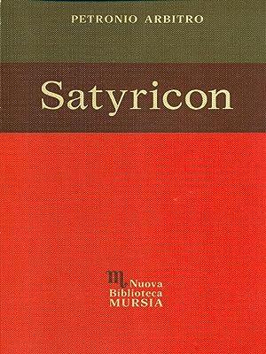 Satyricon: Arbitro, Petronio
