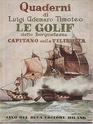 Quaderni di Luigi Ademario Timoteo Le Golif: Alaux, G.