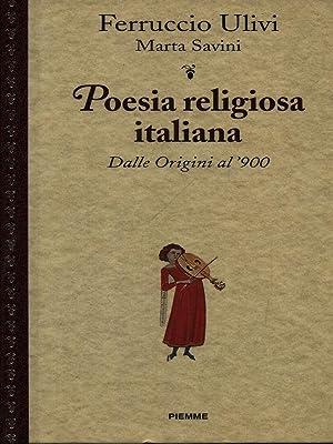 Poesia religiosa italiana: Ulivi, Ferruccio -