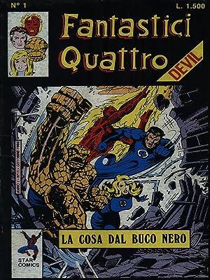 Fantastici Quattro da nr. 1 a nr.: aa.vv.