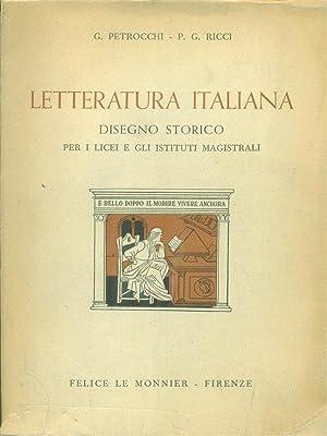 Letteratura italiana: Petrocchi, G. -