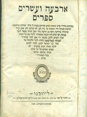 24 libri in lingua ebraica: aa.vv.