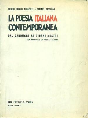 La poesia italiana contemporanea: Barberi Squariotti, Giorgio