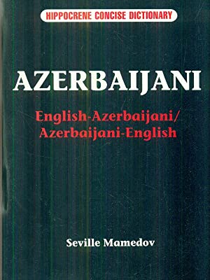 English-Azerbaijani, Azerbaijani-English