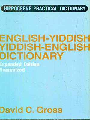 English-Yiddish, Yiddish-English Dictionary