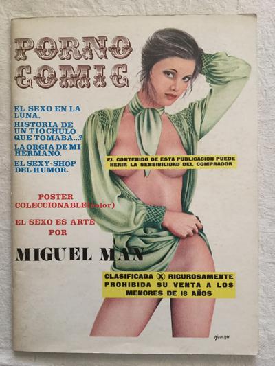 Vintage Comic-Buch Pornos