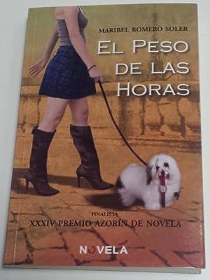 El peso de las horas: Maribel Romero Soler
