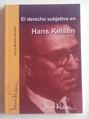 El derecho subjetivo en Hans Kelsen: Medina Morales, Diego