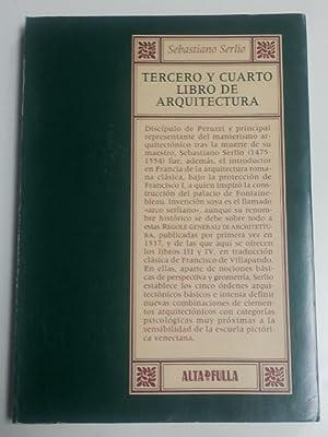 Tercero y cuarto. Libro de arquitectura: Serlio, Sebastiano