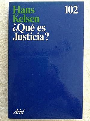 Qué es justicia?: Hans Kelsen