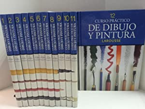 Curso práctico dibujo y pintura. 12 tomos. Obra Completa