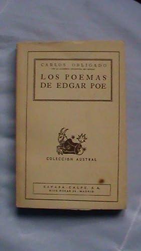 Los poemas de Edgar Poe: Carlos Obligado