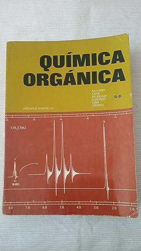 Quimica organica. Tomo 2: ALLINGER/ CAVA/ DE