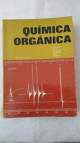 Quimica organica. Tomo 1: ALLINGER/ CAVA/ DE