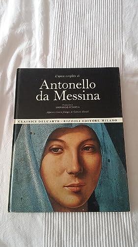 L opera completa di Antonello da Messina: Leonardo Sciascia